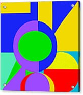 Color And Shape Series #1 Acrylic Print