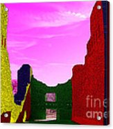Color At Quarai  Acrylic Print