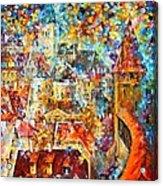 Color Castle Acrylic Print