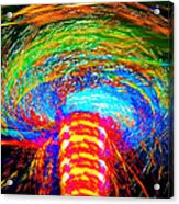 Color Chaos Acrylic Print