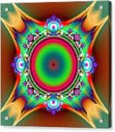 Color Cross Acrylic Print