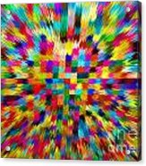 Color Explosion I Acrylic Print