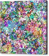 Color Filled Abstract Acrylic Print