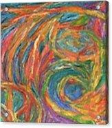 Color Fingers Acrylic Print