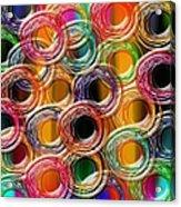 Color Frenzy 6 Acrylic Print