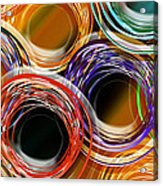 Color Frenzy 7 Acrylic Print