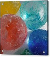 Color In Ice Series 15 Acrylic Print