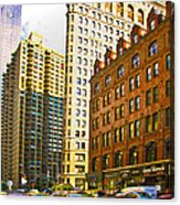 Color In The City Acrylic Print