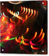 Color Light Motion Acrylic Print