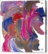 Color Mix 15 Acrylic Print