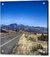 Color My Road V2 Acrylic Print