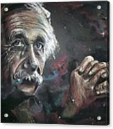 Color My Universe Acrylic Print
