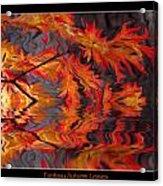Color Of Autumn Acrylic Print