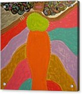 Color Of Dance Acrylic Print