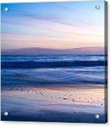 Color Of Sea And Sky Acrylic Print