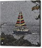 Color Of The Sails Acrylic Print