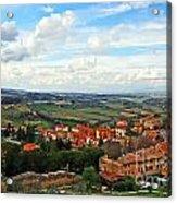 Color Of Tuscany Acrylic Print