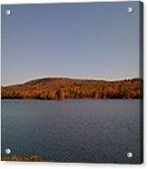 Color On The Lake Acrylic Print