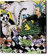 Color Scheme Acrylic Print by Julie McDoniel