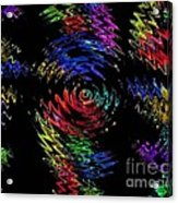 Color Spin Acrylic Print