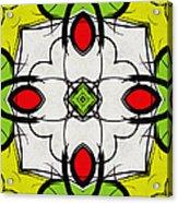 Color Symmetry  Acrylic Print