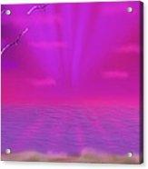 Color Symphony Of Night Acrylic Print