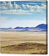 Color View Of West Texas Acrylic Print