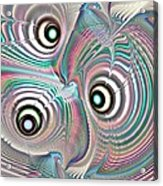 Color Waves Acrylic Print