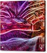 Color Wheel Digital Guitar Art By Steven Langston Acrylic Print