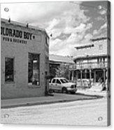 Colorado Boy Acrylic Print
