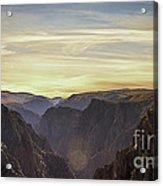 Colorado Canyon Morning Acrylic Print