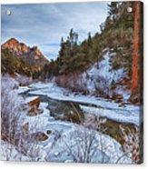 Colorado Creek Acrylic Print by Darren  White