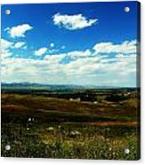 Colorado Fields Acrylic Print by Christian Rooney