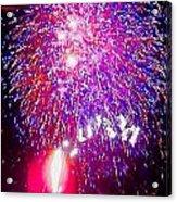 Colorado Fireworks  Acrylic Print