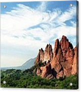 Colorado - Garden Of The Gods Acrylic Print