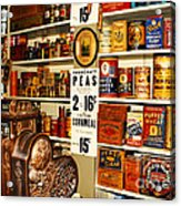 Colorado General Store Supplies Acrylic Print