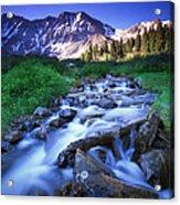 Colorado High Country Acrylic Print