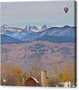 Colorado Hot Air Ballooning Acrylic Print