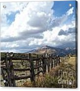 Colorado In Autumn Acrylic Print
