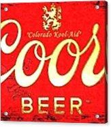 Colorado Kool-aid Acrylic Print