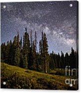 Colorado Milky Way Acrylic Print