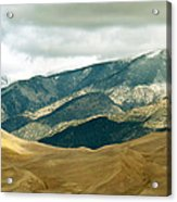 Colorado Mountain View Acrylic Print by Eva Kato