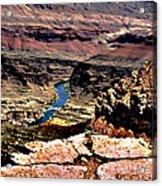 Colorado Rapids Grand Canyon Acrylic Print