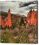 Colorado Red Rock Landcape Acrylic Print