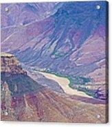 Colorado River At Cape Royal On North Rim Of Grand Canyon-arizona Acrylic Print