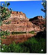 Colorado River At Moab Acrylic Print