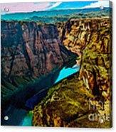 Colorado River Grand Canyon Acrylic Print