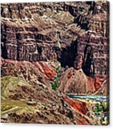 Colorado River In The Grand Canyon High Water Acrylic Print