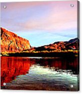 Colorado River Lees Ferry Painting Acrylic Print