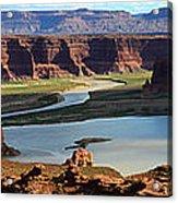 Colorado River Panoramic Acrylic Print